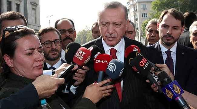 Erdoğan'dan önce tahliye edilen sonra gözaltına alına Osman Kavala için ilk yorum