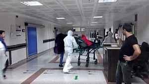 Erzurum'da karantinaya alınan hastanenin içinden ilk görüntüler