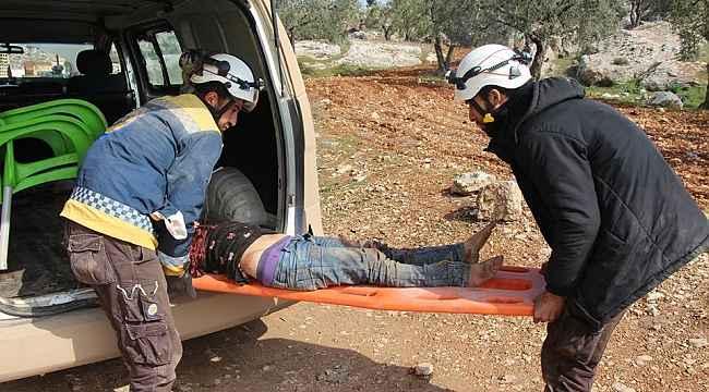 Esad çocuk katletmeye devam ediyor! Rejimi güçleriHalep'in Maart El Atarib köyünü vurdu: 3 ölü, 3 yaralı