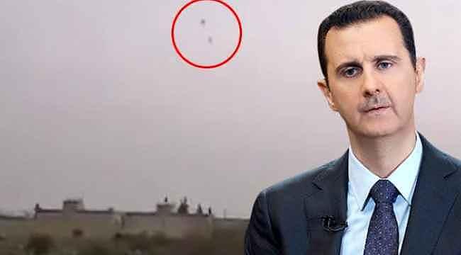 Esed rejimine ait askeri helikopter düşürüldü