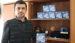 Eşi ve kayınvalidesinden ilham aldı, doğal bulaşık deterjanı üretti