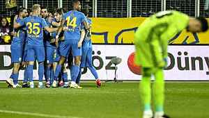 Fenerbahçe, şampiyonluk yolunda büyük yara aldı