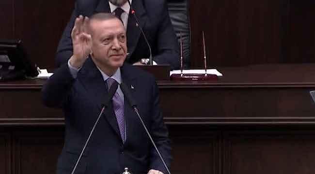 Grup toplantısı öncesi doğum günü sürprizi... Erdoğan'ın gözleri doldu