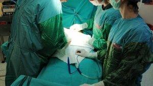 Hamile sanılan kadının karnından 11 kilo ur çıktı