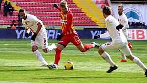 Hes Kablo Kayserispor, Fraport TAV Antalyaspor ile berabere kaldı