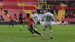 Hes Kablo Kayserispor ile Konyaspor berabere kaldı