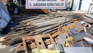 Hızlı tren inşaatı demirlerini çalan hırsızlara şok baskın - Bursa Haberleri