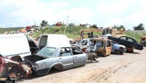 Hurda araçlar toplanıyor - Bursa Haberleri