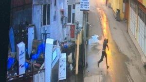 Hurdacı dükkânında cinayet saniye saniye kamerada - Bursa Haberleri