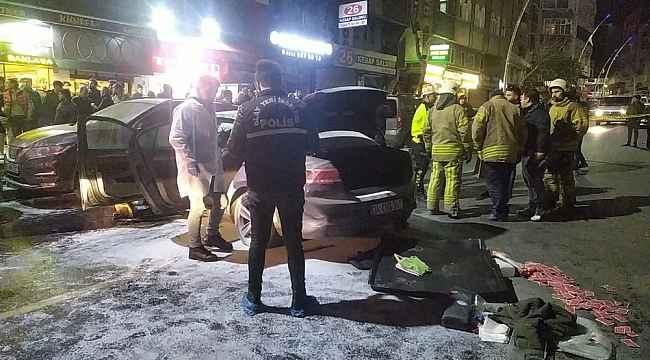 İstanbul'da bir sürücü ortalığı savaş alanına çevirdi