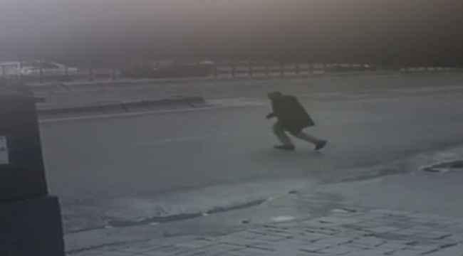 İstanbul'un göbeğinde feci kaza kamerada