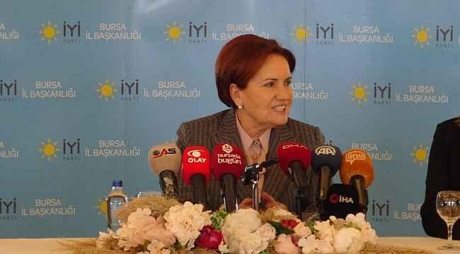 İYİ Parti Genel Başkanı Akşener partisindeki istifalara ilişkin konuştu - Bursa Haberleri