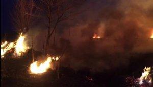 İznik'te sazlık alanda çıkan yangın kontrol altına alındı - Bursa Haberleri