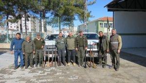 Kaçak avcılara 25 bin lira ceza kesildi
