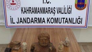 Kahramanmaraş'ta tarihi eser kaçakçılığı operasyonu: 3 gözaltı