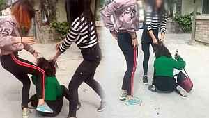 Kan donduran görüntüler! Denizli'de çete kuran 3 genç kızın kendinden küçük çocuklara yaptıkları pes dedirtti