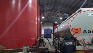 Kayseri Emniyeti piyasa değeri 3 milyon TL olan 470 bin litre kaçak akaryakıt ele geçirdi
