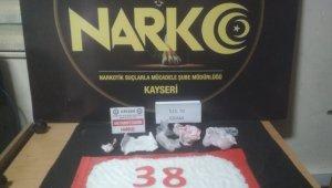 Kayseri'de uyuşturucu operasyonu: 2 tutuklama