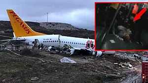Kazadan 1 saat sonra çekilen skandal görüntü