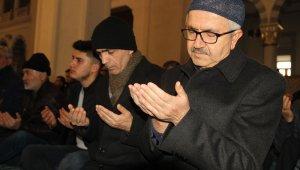 Kırıkkale'de vatandaşlar şehitler için ellerini semaya kaldırdı