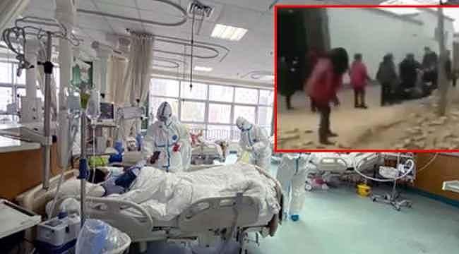 Korkunç görüntü... Virüs tedavisi olup evine dönen şahıs, tekme tokat dövüldü