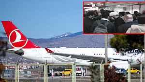 Koronavirüs şüphesiyle Türkiye'nin gündemine oturan Tahran uçağında kalkmadan önce kavga çıktı!