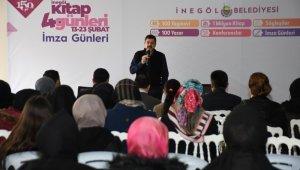 Mehmet Fatih Çıtlak İnegöllülerle buluştu - Bursa Haberleri