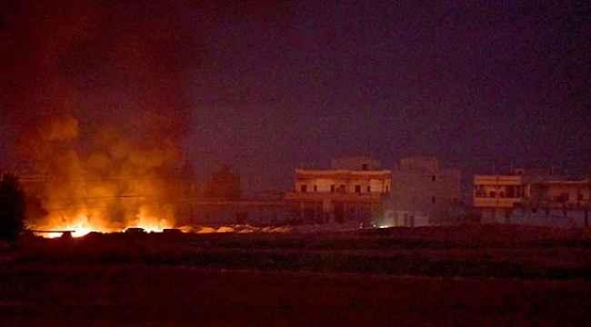 Mehmetçik, Suriye'de Esed rejim güçlerine şok dalga saldırısı düzenledi