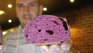 Mor ekmek üretti, tanesini 10 liraya satıyor - Bursa Haberleri