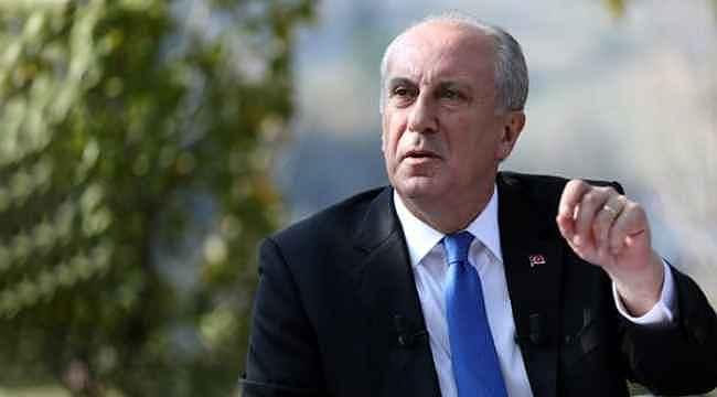 Muharrem İnce'den CHP'ye eleştiri