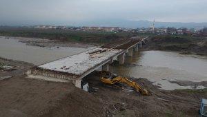 Mustafakemalpaşa 3. köprüde sona yaklaşıldı - Bursa Haberleri