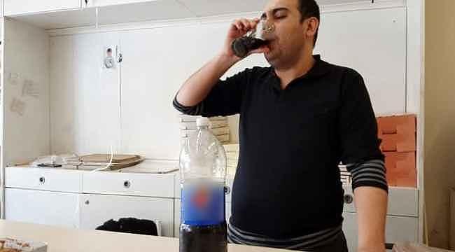 Ne yemek yiyor, ne su içiyor... 25 yıldır sadece kola içiyor
