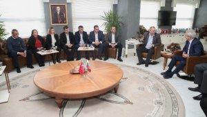 Nilüfer'e kardeş ziyareti - Bursa Haberleri