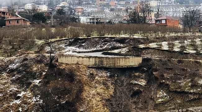 Ordu'da heyelan: 12 konut tahliye edildi