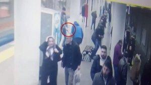 Otogar metro istasyonunda yaşanan dehşetin görüntüleri ortaya çıktı