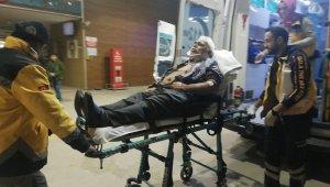 Otomobil dönen tıra çarptı: 2 yaralı - Bursa Haberleri