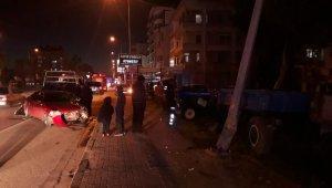 Özhaseki, Türel ve Yılmaz'ın yaralandığı trafik kazası