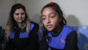 Polis olmak isteyen Hatice'yi duygulandırıp ağlatan ziyaret