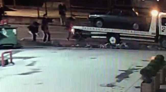 Pompalı tüfekle havaya rastgele ateş açtı, polis memurunu yaraladı