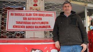 Robin Hood bu seferde İzmir'de de ortaya çıktı... Tüm veresiye borçlarını ödedi