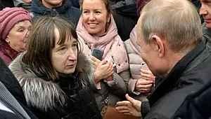 Rus kadının sorduğu soru, Vladimir Putin'i utandırdı