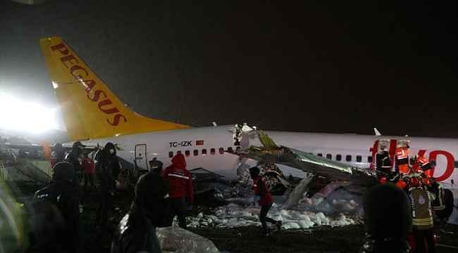 Sabiha Gökçen'de meydana gelen uçak kazası sonrası tutuklanan pilotun ifadesi ortaya çıktı!