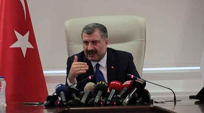 """Sağlık Bakanı Koca: """"61 kişiden alınan numuneleri negatif"""""""
