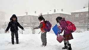 Samsun'da 8 ilçede bazı okullara kar tatili! 12 Şubat 2020