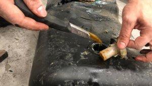 Sarp Gümrük Kapısı'nda 115 kilo kaçak bal ele geçirildi