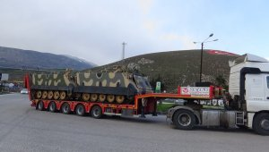 Sınır birliklerine askeri araçlarla ZPT sevkiyatı