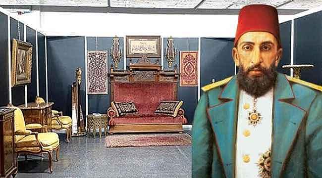 Sultan II. Abdulhamid'in tahtı 100 bin TL'ye satıldı ancak satıcının bir şartı var