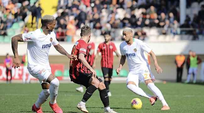 Süper Lig: Aytemiz Alanyaspor: 0 - Gençlerbirliği: 1