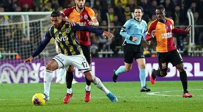 Süper Lig: Fenerbahçe: 1 - Galatasaray: 3
