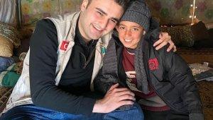 Suriyeli Fuat Musa'ya CZN Burak'tan yardım eli